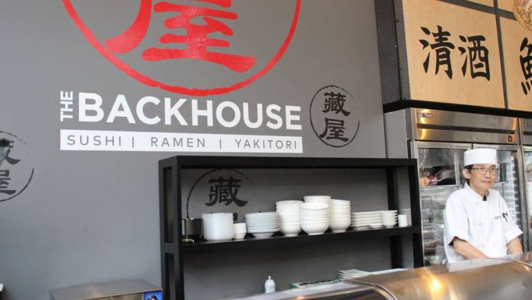 Backhouse celebrates with Ribbon Cutting