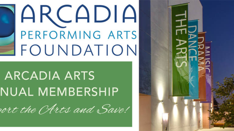 Upcoming Events at the Arcadia Performing Arts Center
