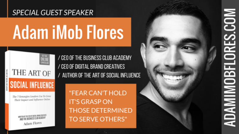 New Live Workshop from Adam iMob Flores