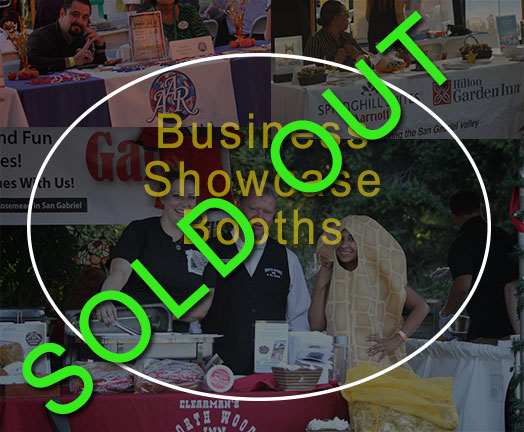 Showcase Booths Sold Out
