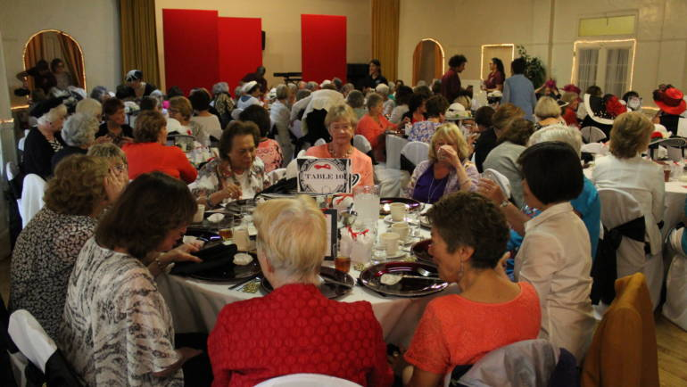 """Going """"Back in Time"""" at the Arcadia Woman's Club"""