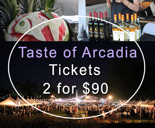 Taste of Arcadia Tickets 2 for 90