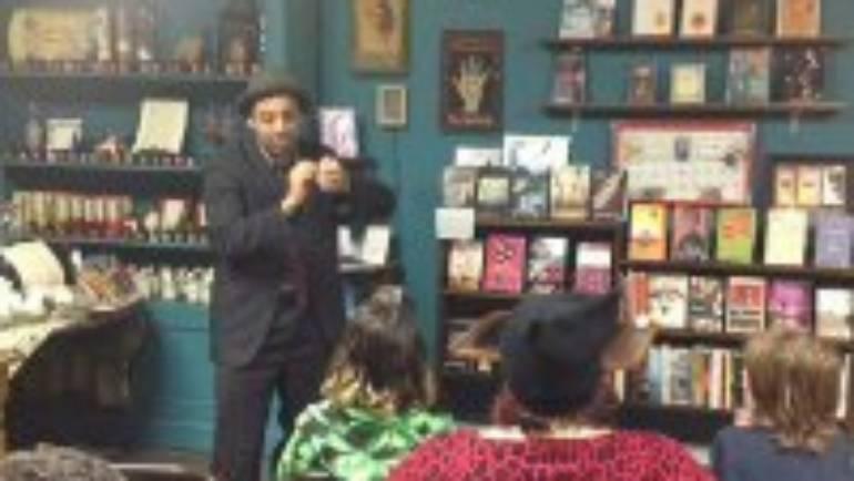 Magic happens at the Bookstore with Daniel Perez