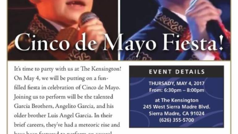 Cinco de Mayo at the Kensington