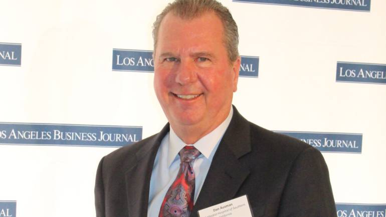 LA Business Journal selects Methodist's Dan Ausman as Hospital CEO of the Year