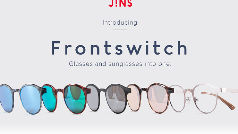 JINS introduces Frontswitch!