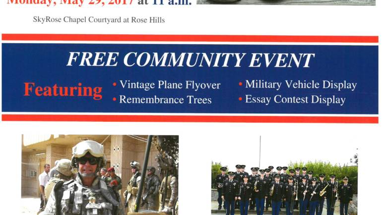 Rose Hills 97th Annual Memorial Day Observance