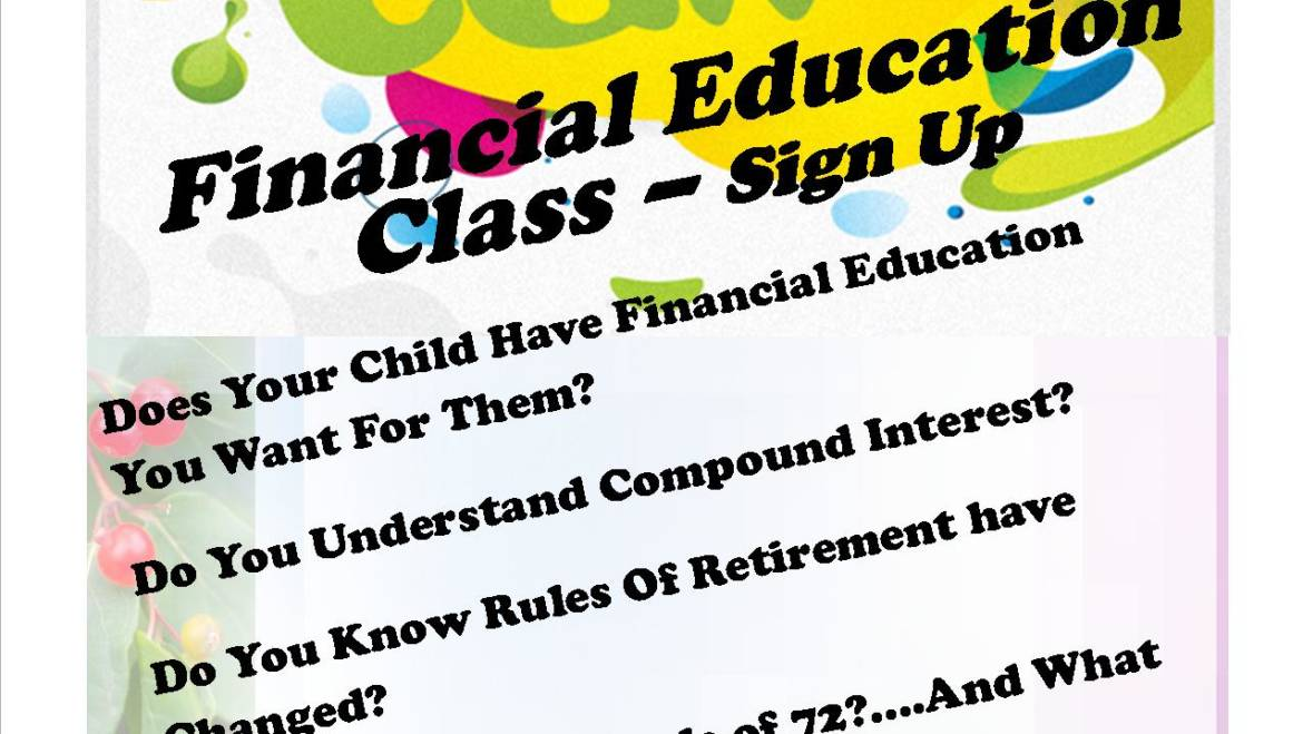2017 Financial Summer Camp with CH Financial