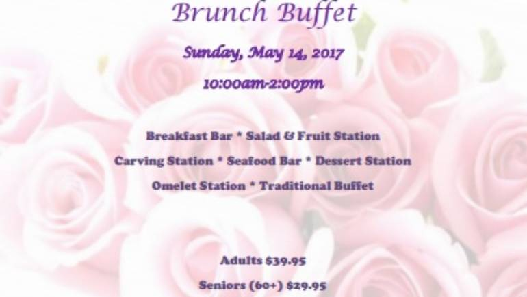 Mother's Day Brunch at Courtyard Marriott