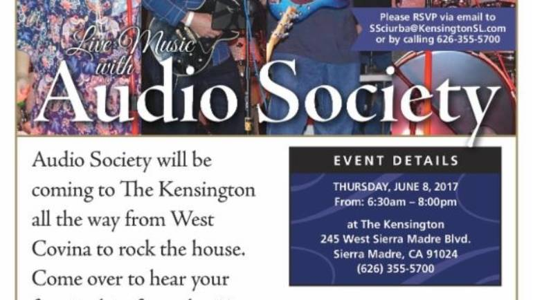 The Kensington: Live Music with Audio Society