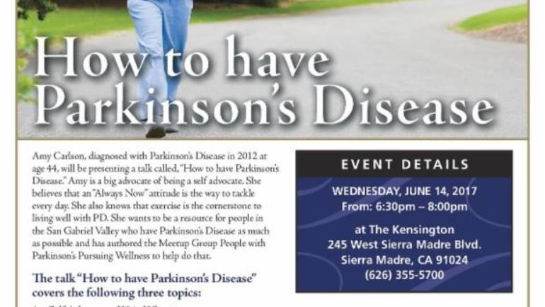 The Kensington: How to Have Parkinson's seminar