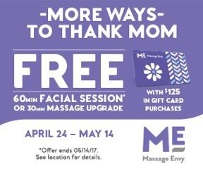 Celebrate Mom at Massage Envy