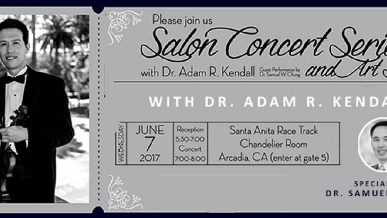 Dr. Kendall Salon Concert to benefit Foothill Unity Center