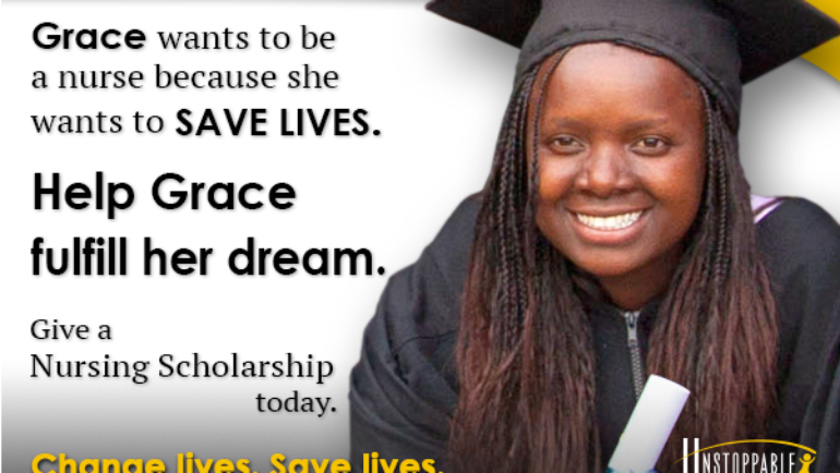 Help send kids to college with Unstoppable's Scholars Program