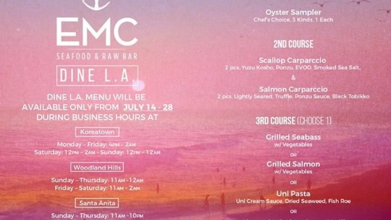 Dine LA at EMC Seafood