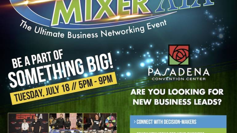 LA's Largest Mixer is coming!