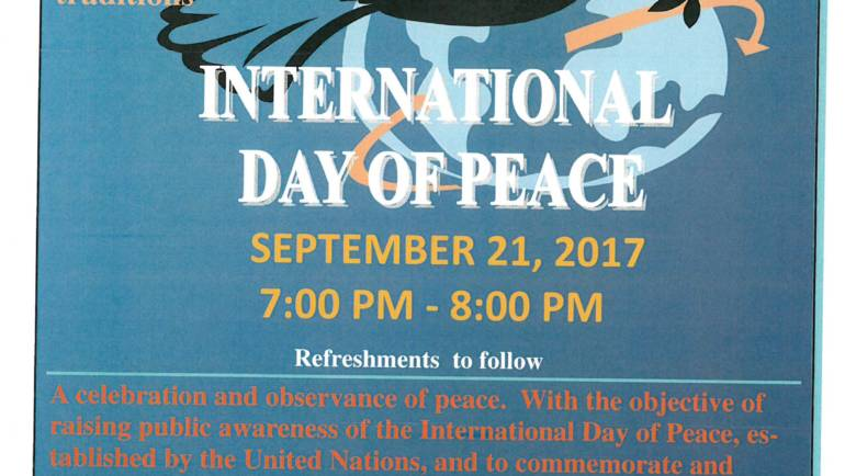 International Day of Peace at Santa Anita Church