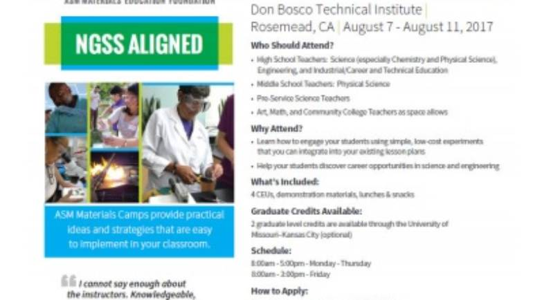 Bosco Tech pro development workshop