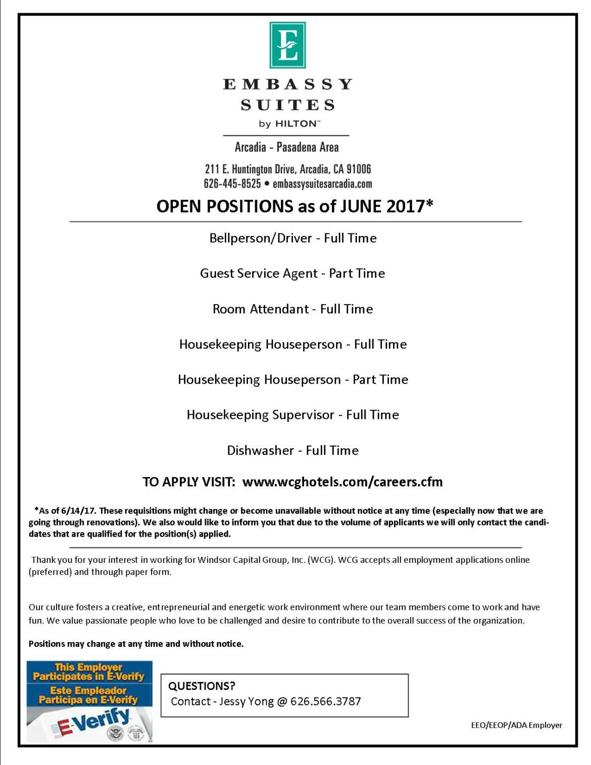 Ada job openings