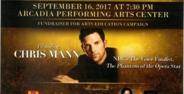 Chris Mann at Arcadia Performing Arts Foundation