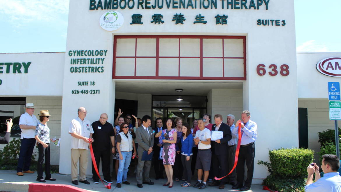 Arcadia Chamber welcomes Bamboo Rejuv Therapy with Ribbon Cutting