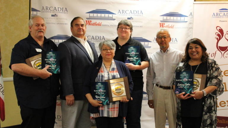 Business Awards at Arcadia Chamber Networking Breakfast