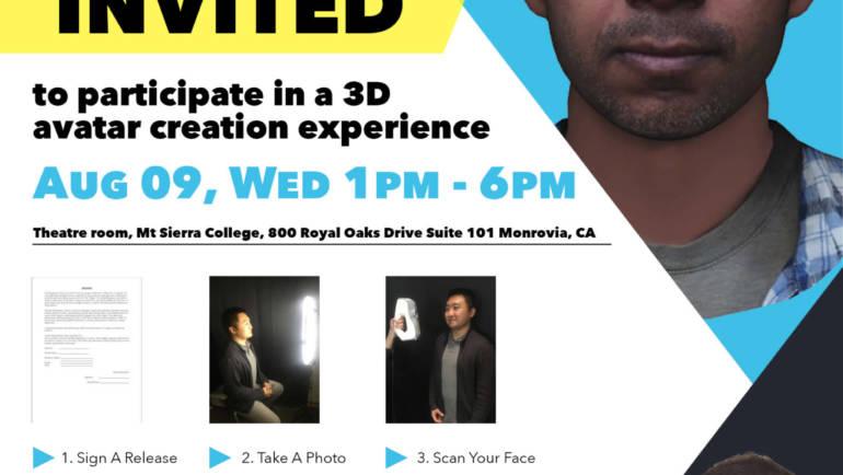Mt Sierra College presents an Avatar Creation Experience