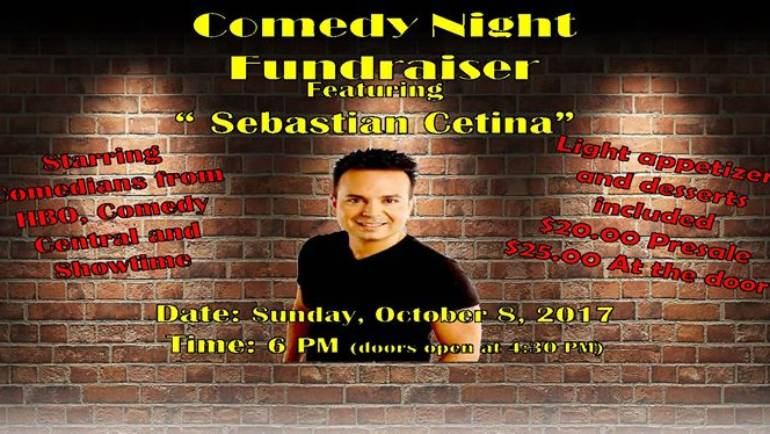 Villa Catrina comedy night fundraiser