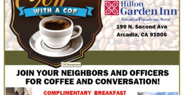 Coffee with a Cop – Monday, October 9, 2017