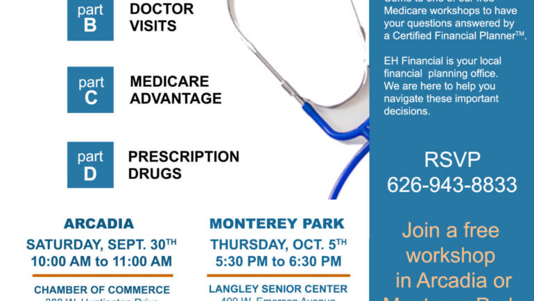 EH Financial Retirement and Medicare free info session