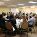 Eggs, Bacon and Bagels at Networking Breakfast
