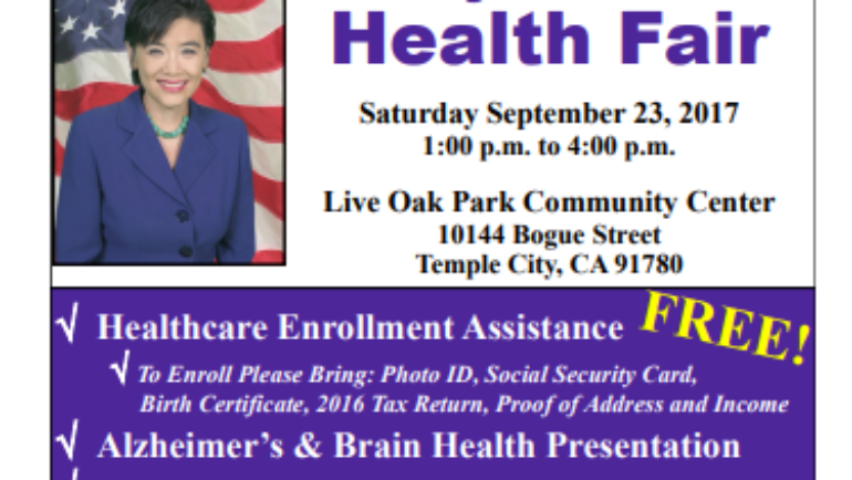 Congresswoman Judy Chu Health Fair