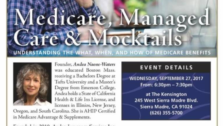 Medicare, Managed Care and Mocktails at the Kensington