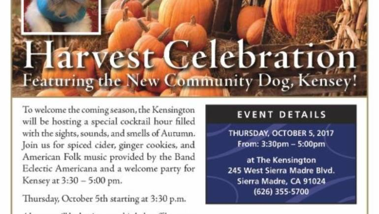 The Kensington: Harvest Celebration