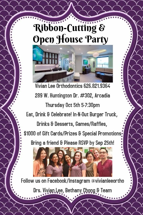 Ribbon Cutting and Open House: Vivian Lee Orthodontics