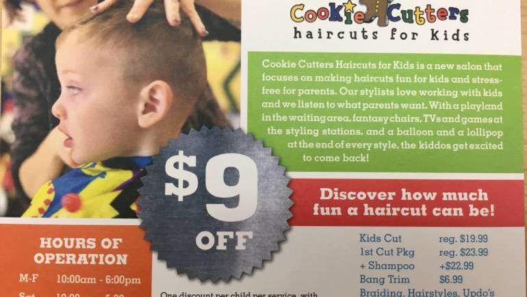 Discover how much fun a haircut can be at Cookie Cutters Arcadia!