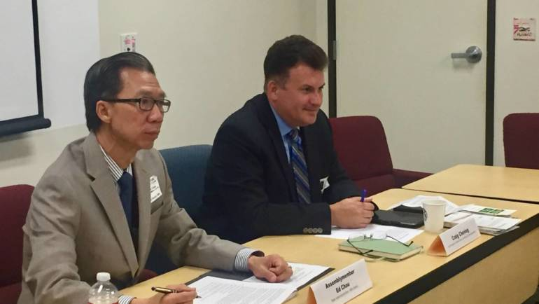 Chau holds digital citizenship roundtable