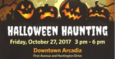 Downtown Arcadia Halloween Haunting