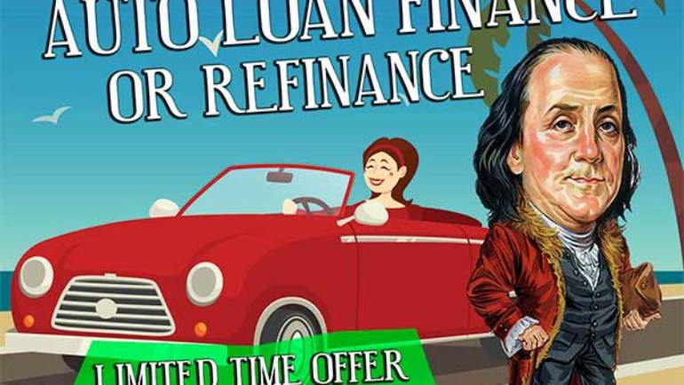 'Take home a Benjamin' offer from Foothill Credit Union
