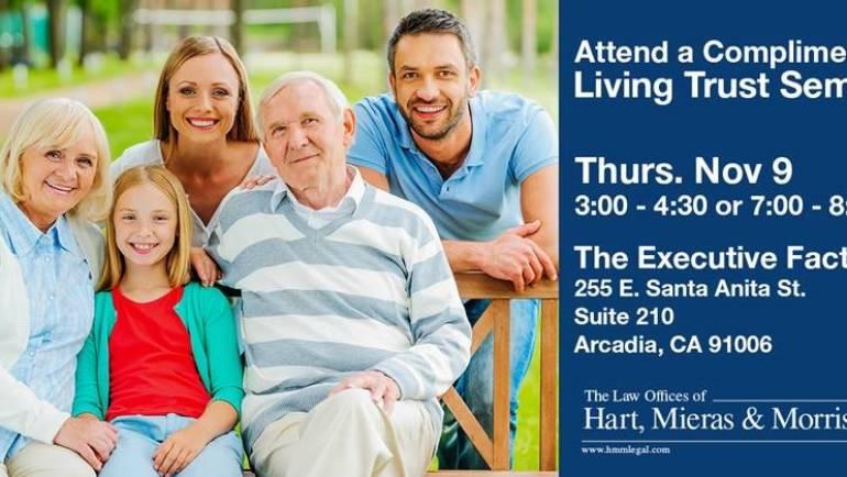 Hart, Mieras & Morris Complimentary Living Trust Seminar