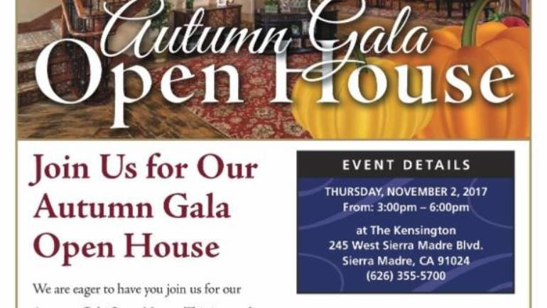 The Kensington: Autumn Gala Open House