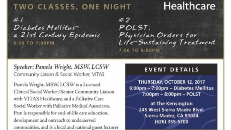 The Kensington: VITAS Healthcare presents Continuing Education
