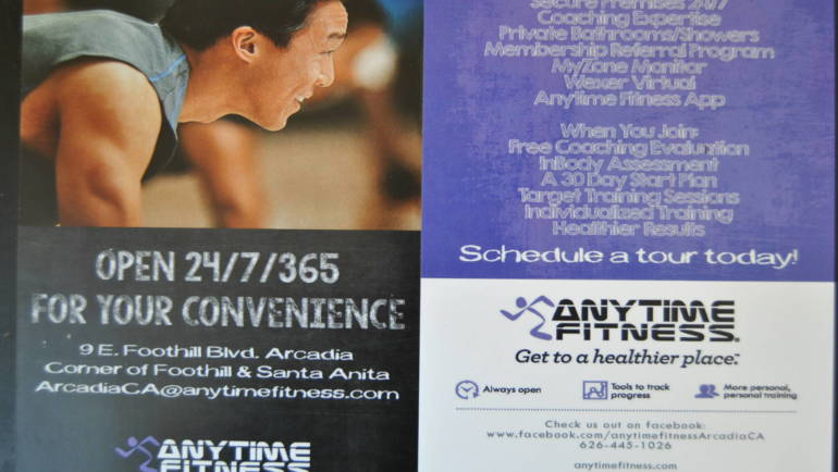 Anytime Fitness coming to Arcadia