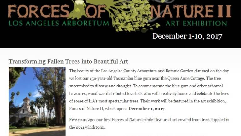 Forces of Nature at the LA Arboretum