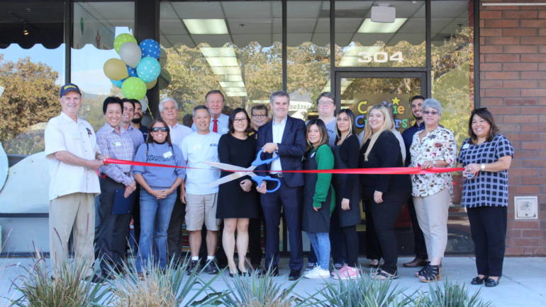 Celebrating Cookie Cutters with a Ribbon Cutting