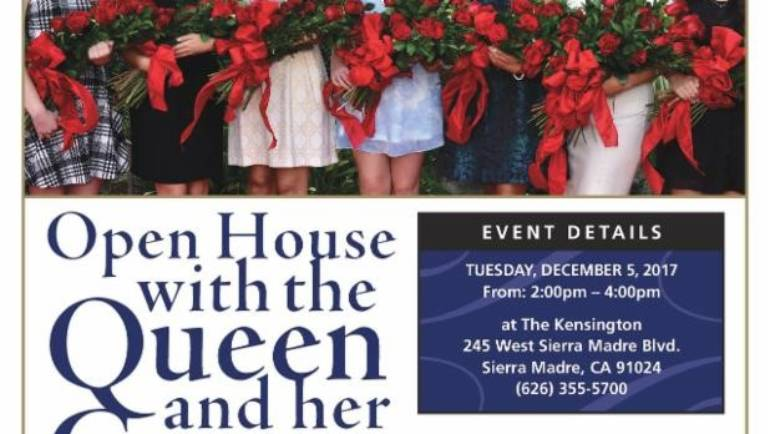 The Kensington: Open House with Rose Queen and Court