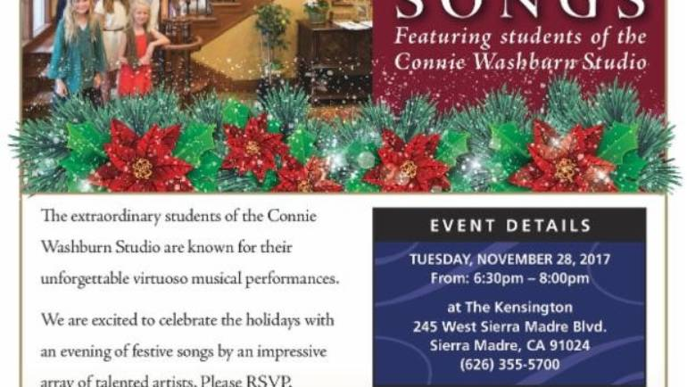 The Kensington: Festive Holiday Songs event