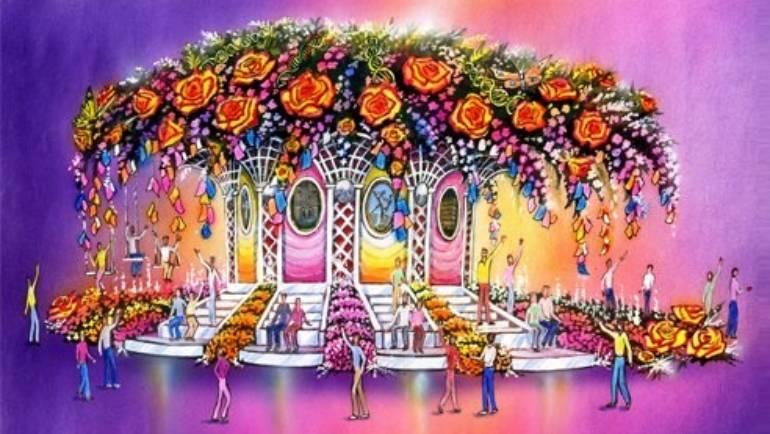 Help decorate City of Hope's Rose Parade Float