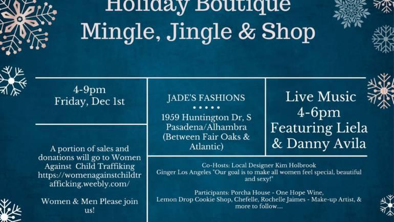 Come shop Chamber members at Mingle, Jingle & Shop