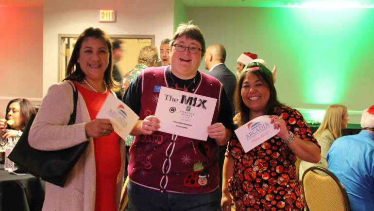 Holiday Fun at Arcadia Chamber's December MIX